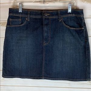 GAP~ NWOT, 10/30, Stretch Jean Skirt